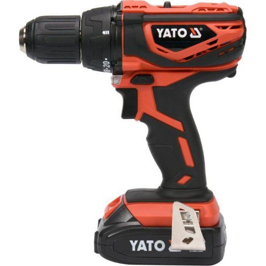 Акумуляторний шуруповерт-дриль YATO YT-82782